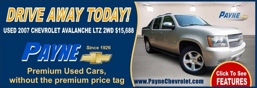 Payne used 2007 chevrolet avalanche 511
