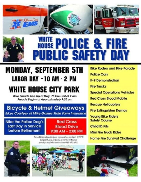 White House safety day flyer 2016