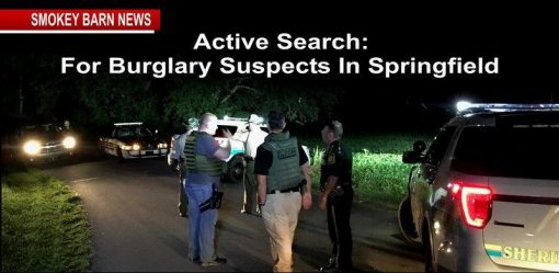 active search for burglary suspects a