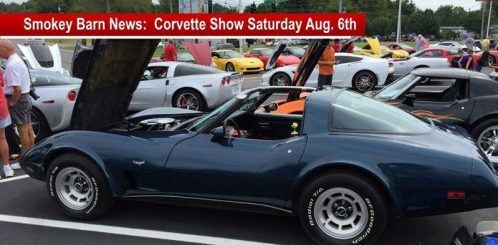 corvette show saturday august 6