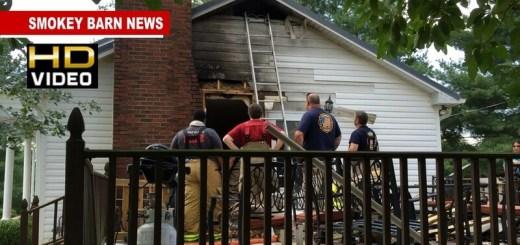Orlinda/Cross Plains Firefighters Save Orlinda Area Home