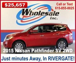 wholesale-nashville-2015-nissan-pathfinder-sv-2wd
