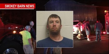 Firefighter Charged With Arson After Tobacco Barn Fire