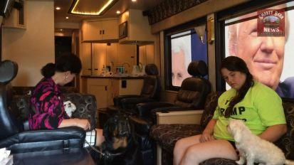 Inside the Trump bus