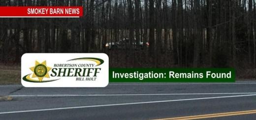 R.C. Officials Investigating Possible Human Remains Off I-24
