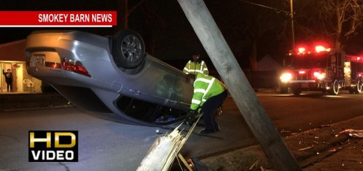 POLICE: Rollover Crash In Springfield Caused By Texting & Driving