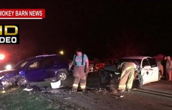 Head-On Crash Closes Kinneys Rd In Springfield
