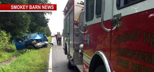 Second Crash Near Coopertown Sends One To Vanderbilt