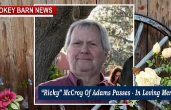 """""""Ricky"""" McCroy Of Adams Dies, He Was 61"""