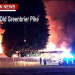 Greenbrier Home Fire Takes One Life Early Friday
