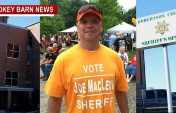 Joe Macleod Announces Run For Robertson County Sheriff