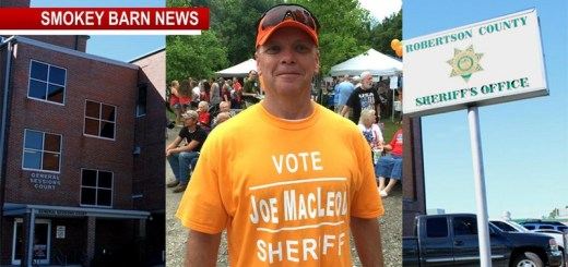 Joe Macleod Announces Run For Robertson County Sheriff