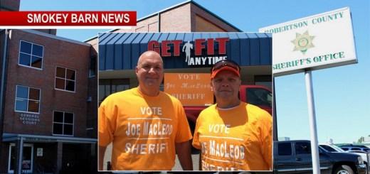 Macleod PicksChief Deputy In Run For R.C. Sheriff