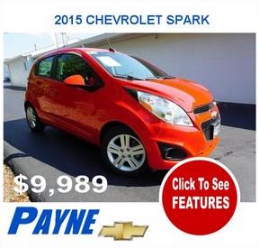 Payne 2015 chevrolet spark 9989 288x275