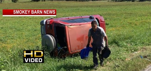 Springfield Woman OK After Rollover Crash On Owens Chapel