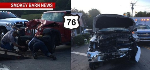 Three Expected To Be OK After Head-On-Crash On Hwy 76