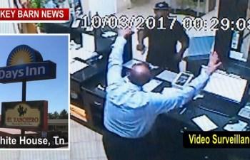 White House Police Seek Gunman In Hotel Robbery