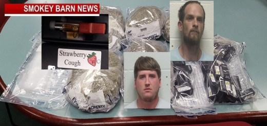 RC Sheriff Seize 7-lbs Of Marijuana & 31 Vials Of THC Vape Liquid