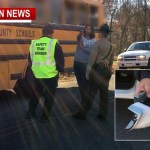 Police Seek Hit-And-Run Driver In School Bus Accident (No Injuries)