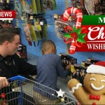 A Christmas Wish, Food And Clothes, At Springfield's Shop-With-A-Cop