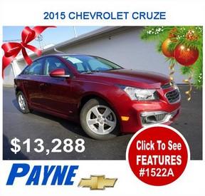 Payne 2015 Cevrolet cruze 1522A
