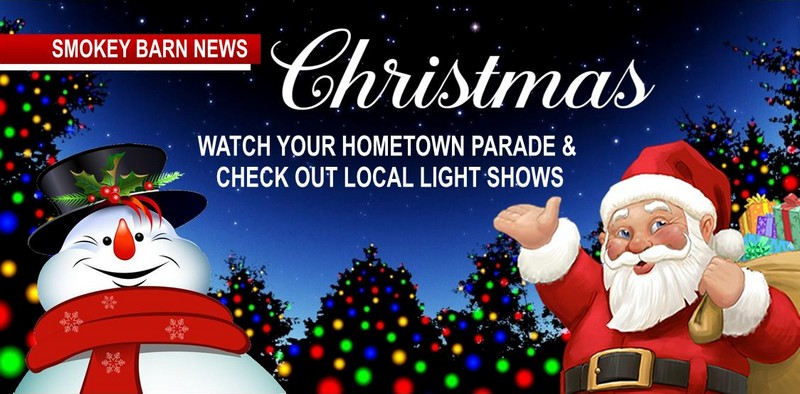 Tr Christmas Parade 2020 Christmas Events & Parades & Local Light Shows | Smokey Barn News
