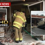 Truck Crashes Into Comcast Lobby Narrowly Misses Teen