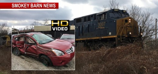 One Critical After Car/Train Collision In Greenbrier