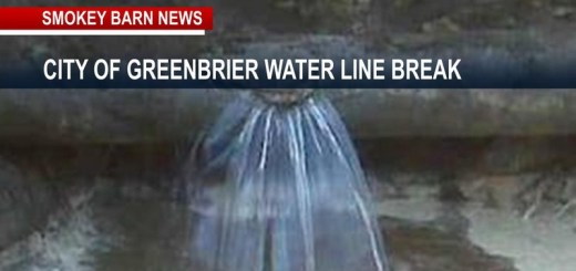 Greenbrier Water Main Break Affects Service To Customers