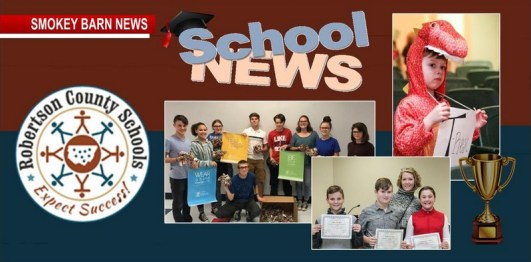 Robertson County School's In The News