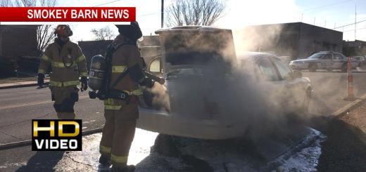 Rear Defroster Ignites, Destroys Car In Springfield