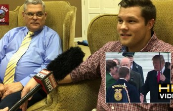 Cross Plains Ag Student Meets President Trump: A Sit Down Interview With Will Gregory