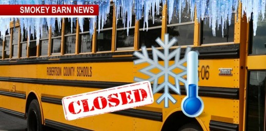 Robertson County Schools Close Thurs. & Fri. Due To Frigid Temps
