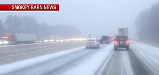 Icy Roads Across Robertson County Make Travel Treacherous