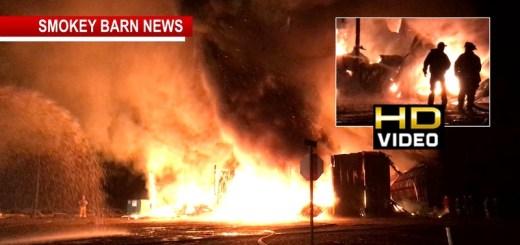 Massive Fire Destroys Riverside Farms Building