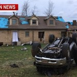 Tornado Destroys One Home, Heavy Damage To A 2nd Home At TN/KY Border