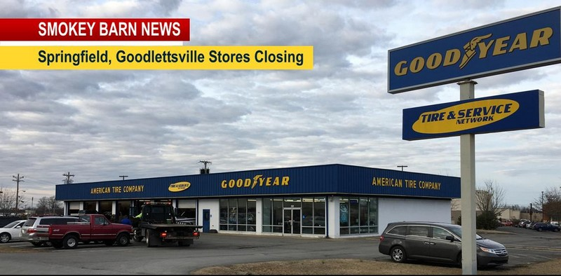 American Tire Springfield Goodlettsville Closes
