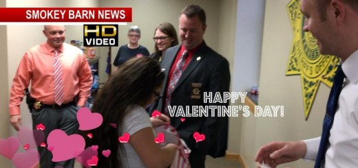 Springfield Girl Honors Sheriff's Dept With 200 Valentines