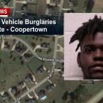 "Coopertown PD Makes Arrest In ""Oak Pointe"" Vehicle Burglaries"