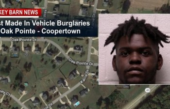 "Coopertown PD Makes Arrest In ""Oak Pointe"" Vehicle Burglaries"