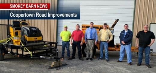 Coopertown Road Improvements Underway