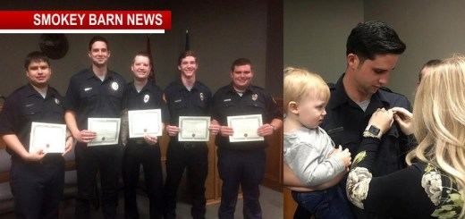 Pleasant View Vol. Fire Dept Celebrates New Recruits AfterRigorous Training
