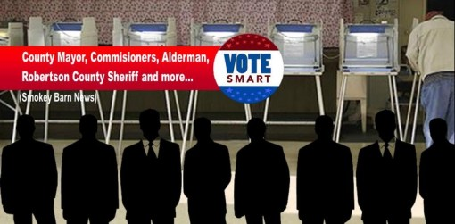 Robertson County Elections 2018 - Who's Running For What