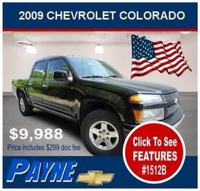 Payne 2009 Chevrolet Colorado 1512B 288