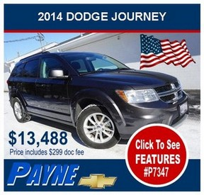 Payne 2014 Dodge Journey p7347 flag 300