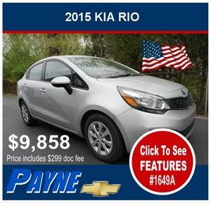 Payne 2015 Kia Rio 1649A 300