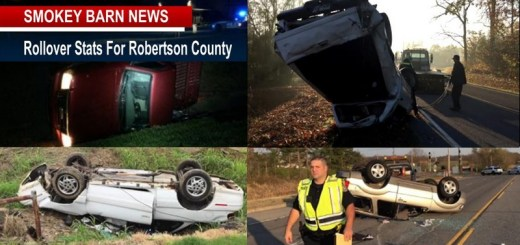 Rollover Crashes In Robertson County (A Look At The Numbers)