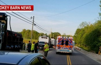 Construction Worker Hit, Critically Injured On Hwy 49