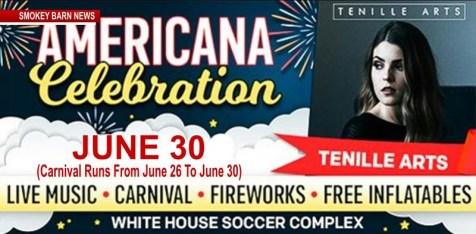 White House, Tn 2018 Americana Celebration Is Right Around The Corner