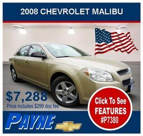 Payne 2008 Chev Malibu P7380 288